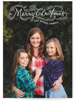 Minted Whirlwind Christmas Holiday Photo Cards