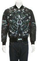 Givenchy Fighter Planes Bomber Jacket