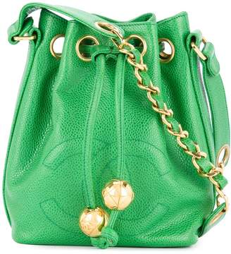 Chanel Pre-Owned 1991-1994 drawstring chain shoulder bag