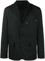 Givenchy technical stitch blazer - men - Cotton/Polyester/Cupro/Wool - 46