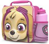 PAW PATROL. PAW PATROL Kids Children 3D Lunch Box Bag With Sport Water Bottle