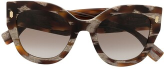 Fendi Tortoiseshell Cat-Eye Sunglasses