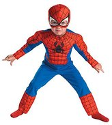 Disguise Spider Man Muscle Chest Toddler Costume