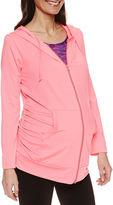 Asstd National Brand Long Sleeve Knit Hoodie Plus Maternity