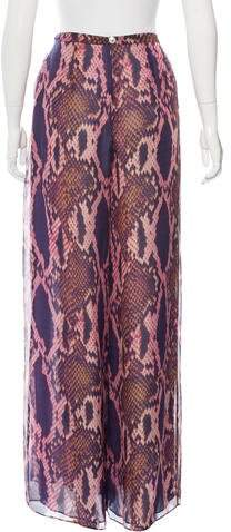 Matthew Williamson Silk Pleated Pants w/ Tags