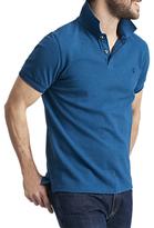Joules Kielder Polo Shirt, Teal Marl