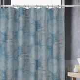Atlas Shower Curtain - Blue