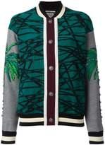 Fausto Puglisi multi print bomber jacket