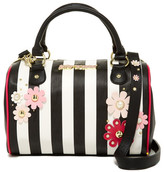 Betsey Johnson Heart Quilted Satchel