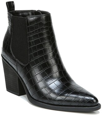 Soul Naturalizer Micah Croc Embossed Chelsea Bootie - Wide Width Available