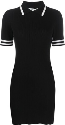 Off-White Fitted Polo Dress