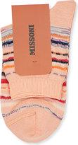 Missoni Striped short ankle socks