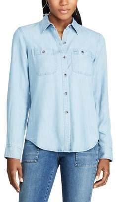 Chaps Women's Arie Long Sleeve Shirt