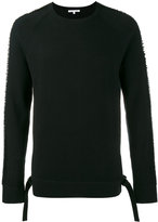 Helmut Lang drop needle sweater - men - Cotton/Polyester - S