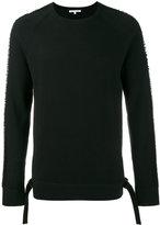 Helmut Lang drop needle sweater - men - Cotton/Polyester - XL