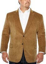 STAFFORD Stafford Corduroy Sport Coat-Big and Tall