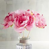 Pier 1 Imports Faux Pink Peony Decorative Reeds
