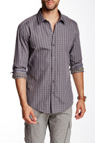 HUGO BOSS Robbie Grid Slim Fit Shirt