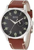 HUGO BOSS Men's 1512723 Leather Quartz Watch