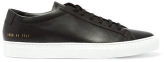 Common Projects Original Achilles Lace-up Leather Trainers - Mens - Black