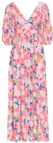 STAUD Exclusive to Mytheresa Affogato printed crepe maxi dress