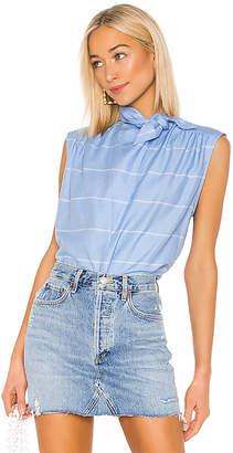 Smythe Sleeveless Bandana Neck Shirt