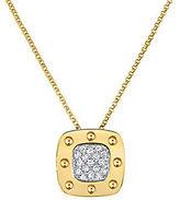 Roberto Coin Pois Mois Diamond and 18K Yellow Gold Pendant Necklace