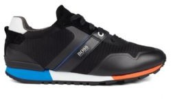 BOSS Hybrid trainers with bamboo-charcoal lining and lightweight sole