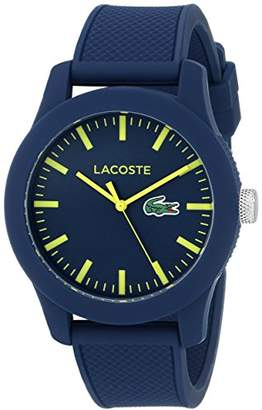Lacoste Men's 2010792 Lacoste.12.12 Blue Resin Watch