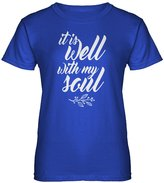Indica Plateau Womens It is Well with My Soul T-Shirt