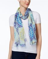Echo Medallion Tile Wrap & Scarf in One