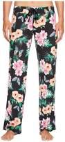 PJ Salvage Meet Me At Sunset Floral Pants
