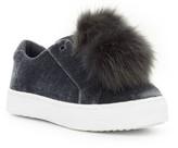 Sam Edelman Women's 'Leya' Faux Fur Laceless Sneaker