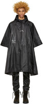 A-Cold-Wall* Black Nylon Poncho