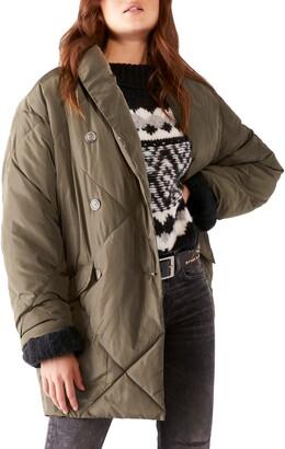 Free People Ella Longline Puffer Jacket