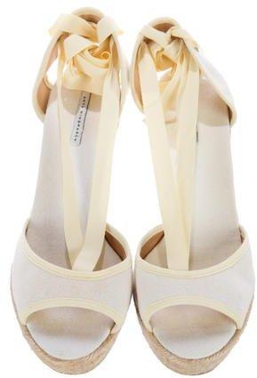 Anya Hindmarch Espadrille Wedge Sandals