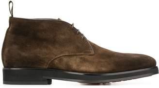 Santoni desert lace-up boots