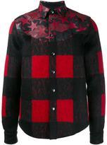 Valentino 'Camustars' and checked jacket