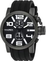Haurex Italy Men's 6N506UWN TURBINA II Analog Display Quartz Watch