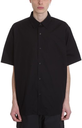 Acne Studios Shepton Shirt In Black Cotton