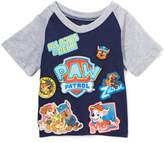 Freeze Navy & Gray 'Paw Patrol' Raglan Tee - Toddler