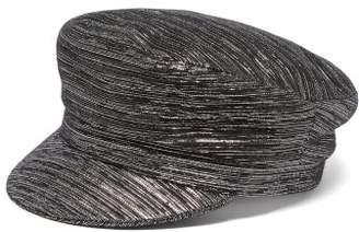 Isabel Marant Evie Metallic Cap - Womens - Black