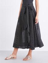 Lisa Marie Fernandez Ladies Casual Polka-Dot Cotton Skirt