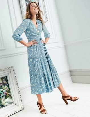 Boden Aurora Midi Wrap Dress
