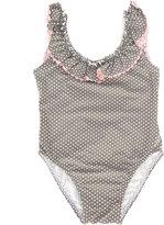 Amaia - polka dot swimsuit - kids - Polyamide/Spandex/Elastane - 6 yrs