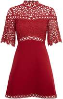 Keepsake Fit and flare lace dress