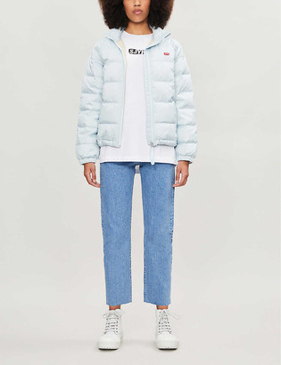 Levi's Francine shell-down packable puffer jacket