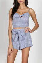 Pretty Little Things Squared Tie Top