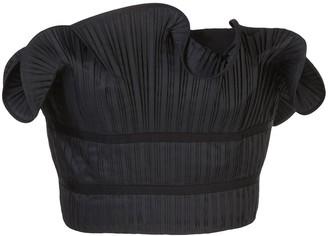 AMUR ruffle strapless top