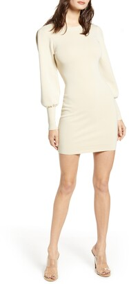 Leith Long Sleeve Sweater Dress